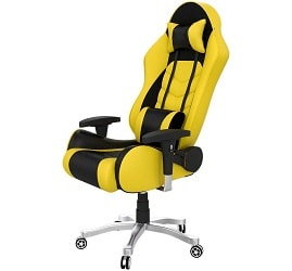 ASE Gold Gaming Chair